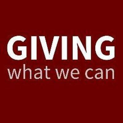 Take The Pledge: Giving What We Can
