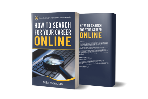Honor Society Professional Network Book: How to Search For Your Career Online