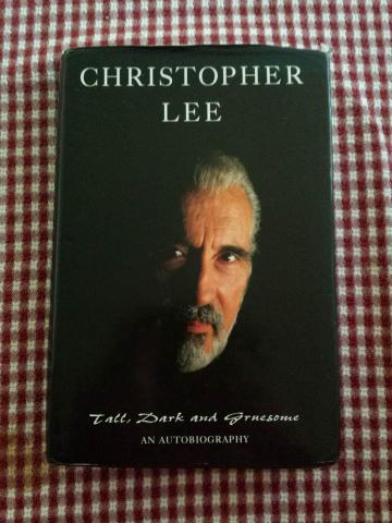 """Book Review: Christopher Lee's """"Tall, Dark and Gruesome"""""""