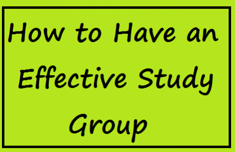 8 Tips for Getting the Most out of Study Groups