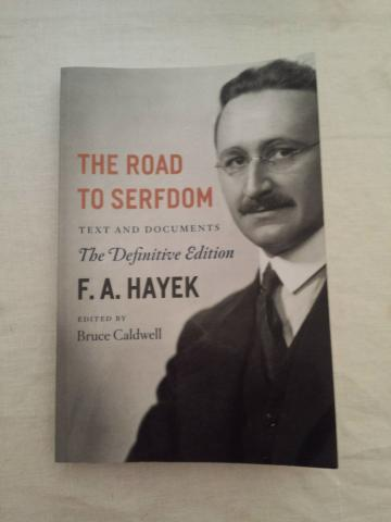 "Book Review: F.A. Hayek's ""The Road To Serfdom"""