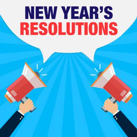 My Top 10 New Years Resolutions